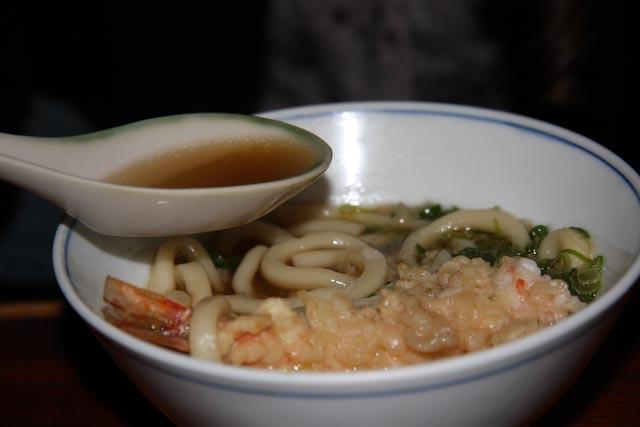 Soba Noodles in Kyoto