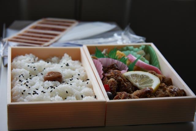 Bento Box on the bullet train