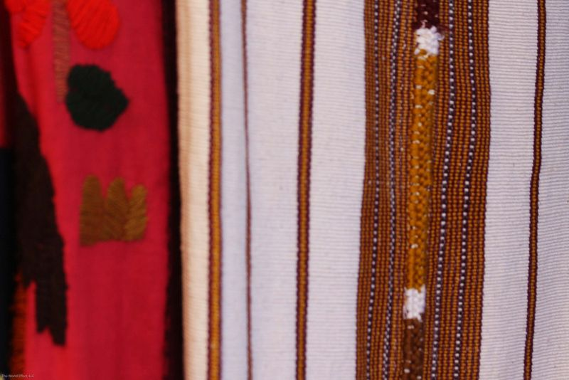 Traditional textile close up