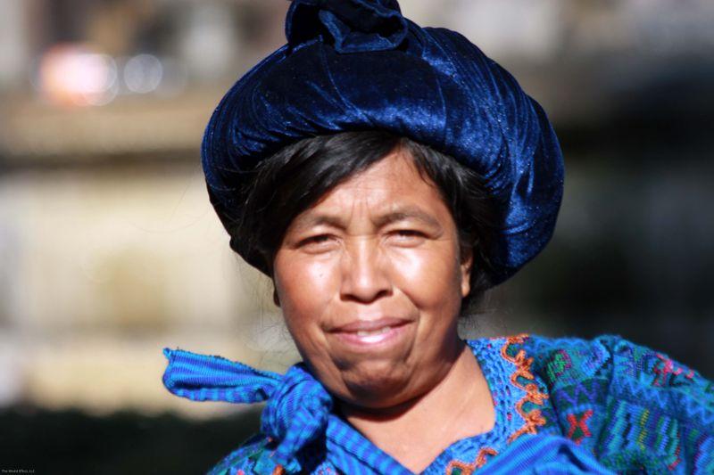 Woman in Parque Centro