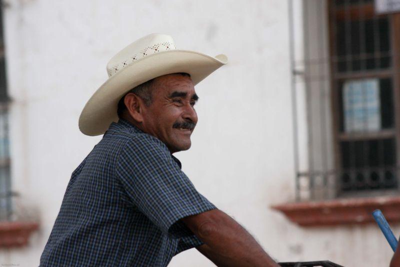 Ranchero in park