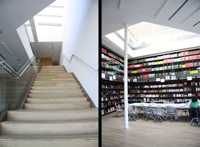 Proa stairs/book storea