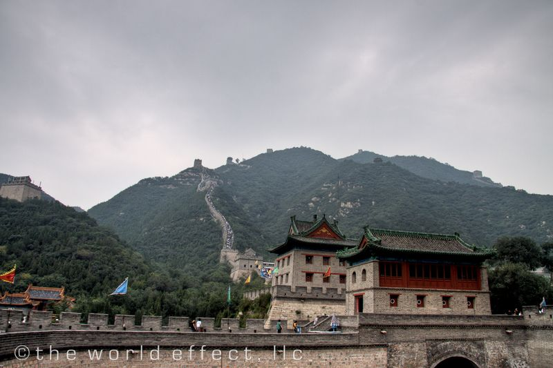 Beijing, China - our portion of the Great Wall