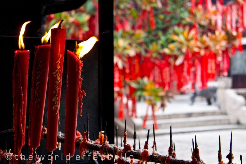 Zhujiojiao, China - Temple
