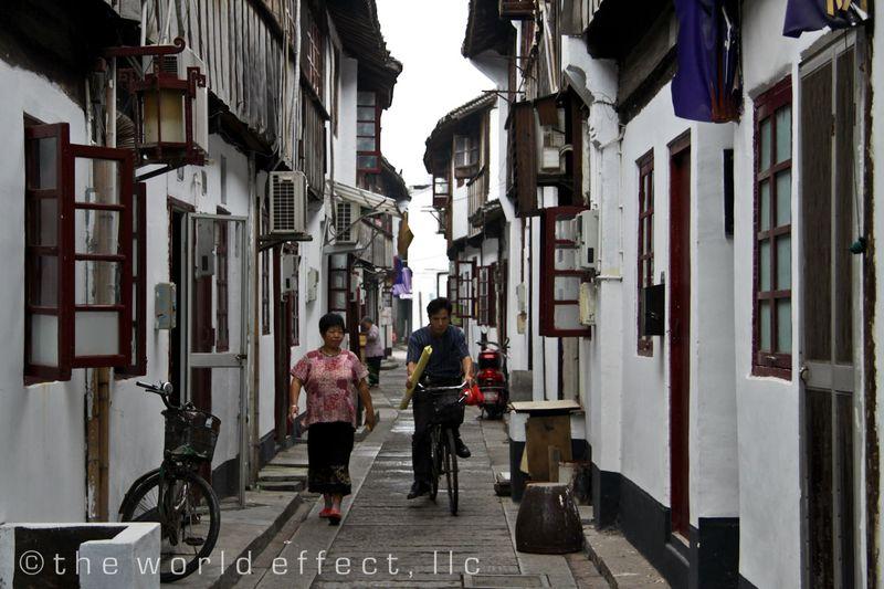 Zhujiojiao, China - Back streets