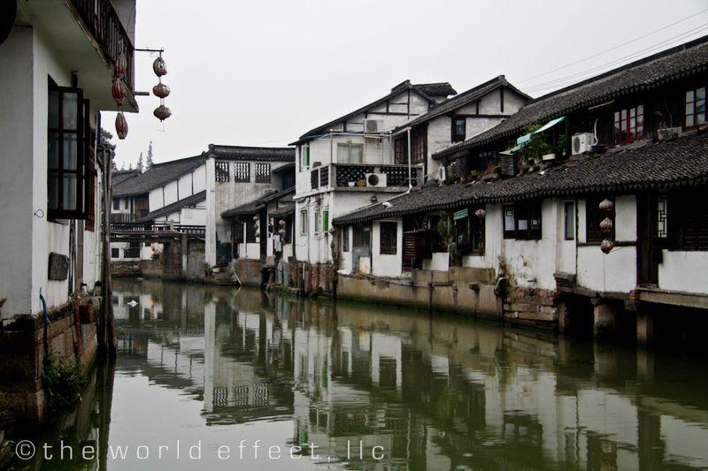 Zhujiojiao, China - Canels