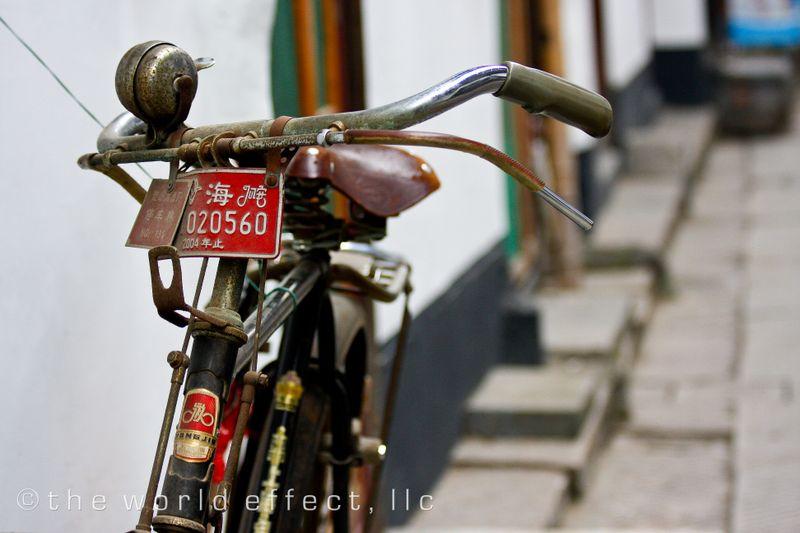 Zhujiojiao, China - Bike